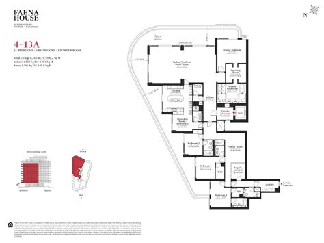 where to find floor plans faena house condos miami