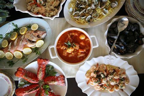 7 fishes on the feast of the seven fishes