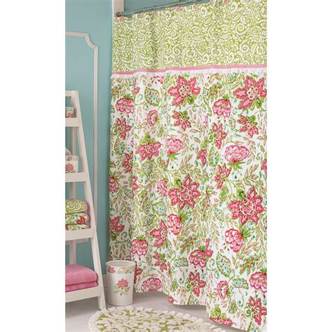 beautiful designer shower curtains for stylish bathroom design bathroom green with floral design ikat shower curtain for