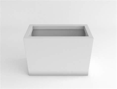 plastic rectangular planter new rectangular and half plastic planter