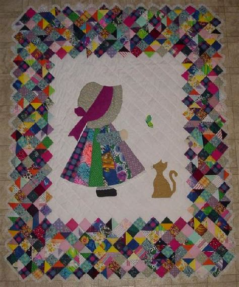 Sue Bonnet Quilt by Sun Bonnet Sue Quilts On Sunbonnet Sue