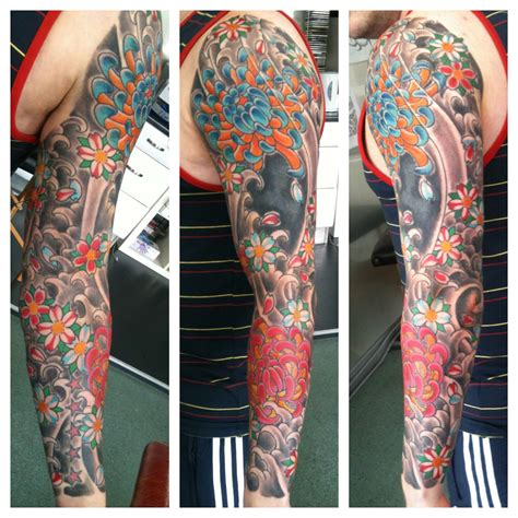 japanese tribal sleeve tattoos sleeve st page 8