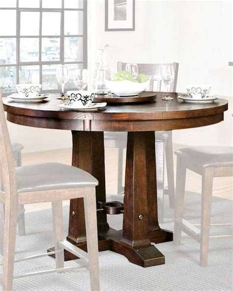 intercon solid pine counter height dining table hayden