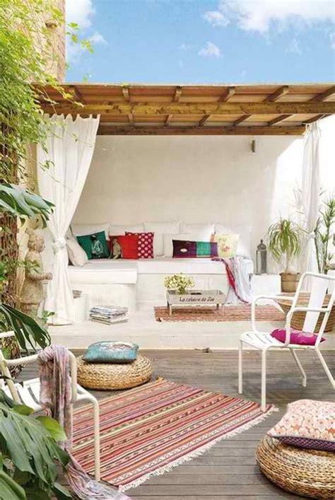 Tropical Bedroom Ideas mediterranean outdoor living areas