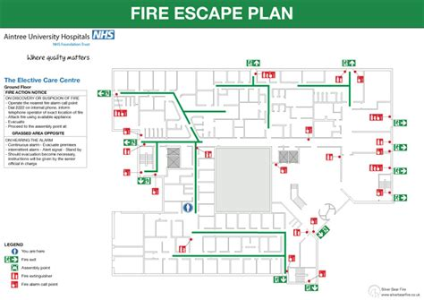 home evacuation plan fire emergency evacuation plan or fire procedure sign