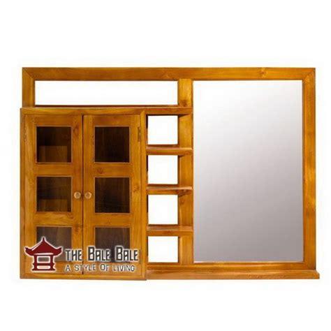 Cermin Kayu cermin kayu jati ckj003 mebel jati minimalis mebel jati jepara mebel furniture kayu jati