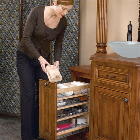 pull out shelves for bathroom vanity bathroom vanity pull out organizer with storage bins pull out bottom mount design
