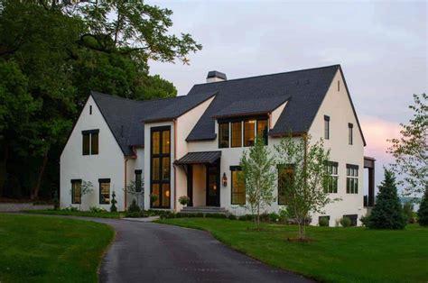 dutch colonial home   modern twist built   son