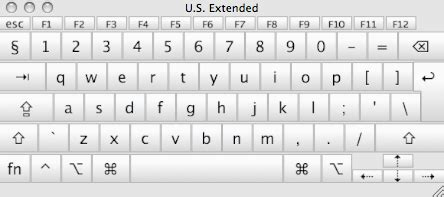 macbook keyboard layout us extended mac keyboard layout exterior memory