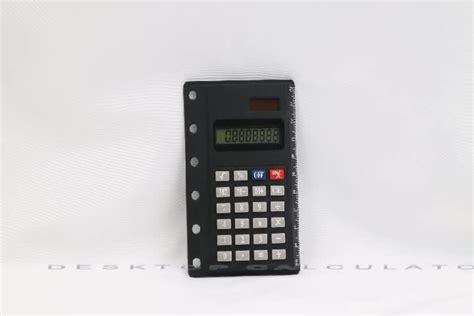 Digital Card Calculator by Desktop 8 Digital Pocket Notebook Card Calculator With
