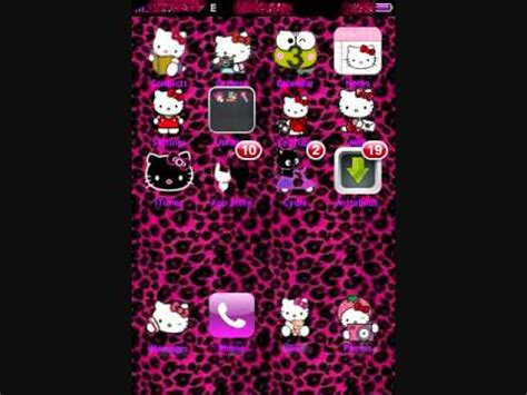 themes hello kitty cydia girly themes for winterboard youtube