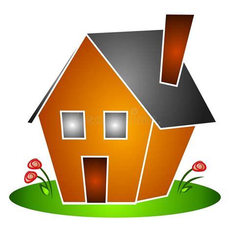 clipart casa getrenntes haus bl 252 ht clipart stock abbildung