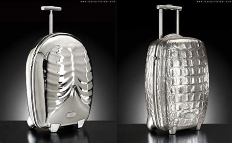 Samsonite Shows Their Luggage Collaboration With Mcqueen by Mcqueen X Samsonite Black Label