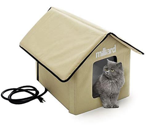 outdoor heat ls amazon milliard portable heated outdoor pet house reviews