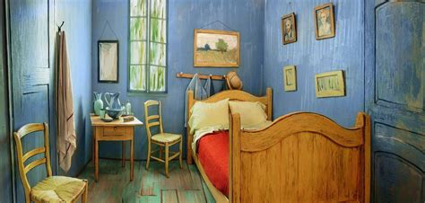 la chambre de vincent gogh airbnb reproduit la chambre 224 coucher de vincent gogh