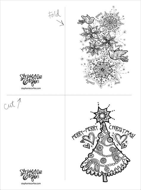 color  holiday cards    stephanie corfee