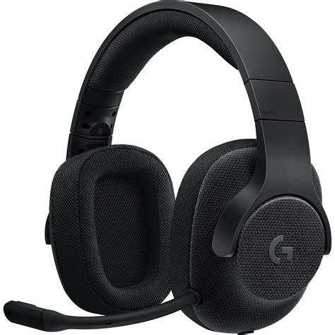 Logitech G433 7 1 Gaming Headset logitech g433 7 1 wired surround gaming headset 981 000708 b h