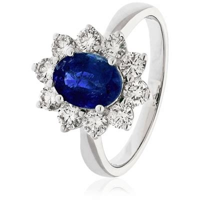 Blue Sapphire 8 30ct 3 30ct blue sapphire halo engagement ring
