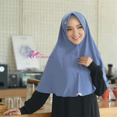 model jilbab syari terbaru  harga terjangkau hijab
