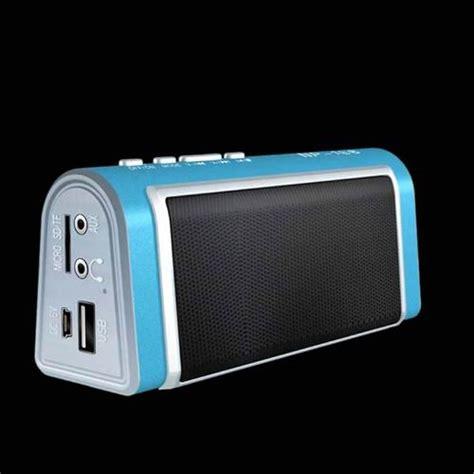 Speaker Mp3 Pistol 01 Usb Microsd portable alloyed microsd tf card usb mp3 rechargeable stereo speaker fm radio player