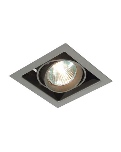 saxby box single light modern recessed ceiling light mr00101