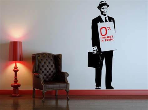 Wall Stiker Uk 60x90 Wall Sticker Sepasang Ranting Daun Hijau 0 interest in from banksy on your wall it 180 s possible