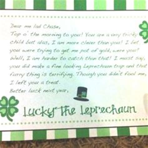 free printable letters from leprechaun 1000 images about st patricks day on pinterest