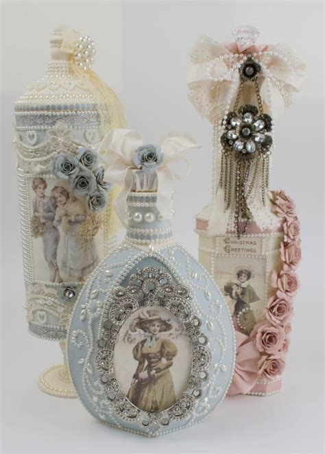 Pin By Tara Bergeron On Diy Crafts - 933 best beautifully decorated bottles images on