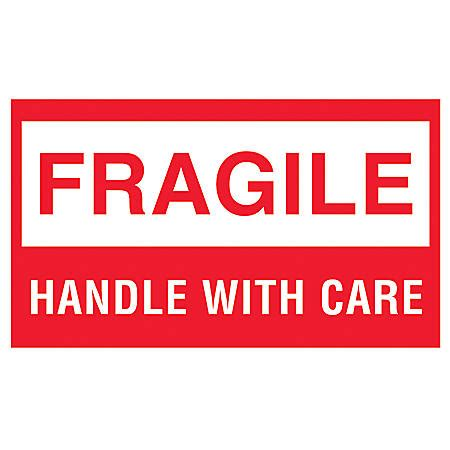 shipping label fragile handle with care logic preprinted shipping labels fragile fragile