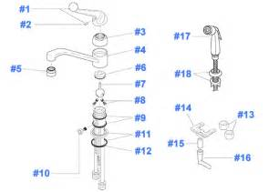 delta kitchen faucets repair parts repair parts for delta kitchen faucets