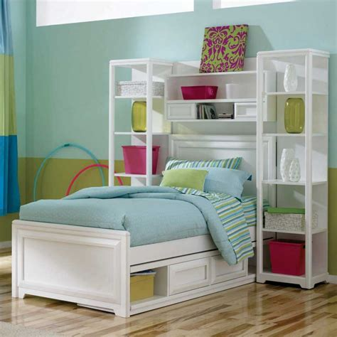 bedroom organizer storage beds for kids with white frames with vertical
