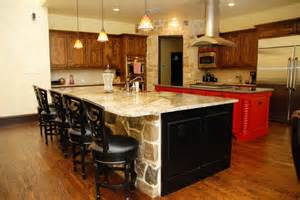 Double Kitchen Island Designs by Double Island Kitchen Home Design Pinterest