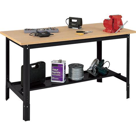 edsal bench edsal heavy duty workbench 48in l x 24in w x 33in h