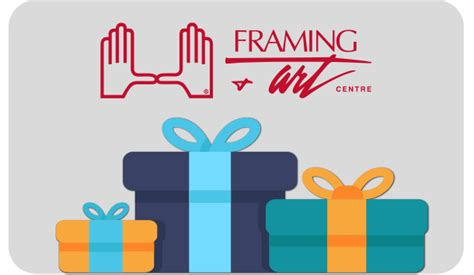 Calgary Gift Card Ideas - no stress holiday shopping framing art centre calgary
