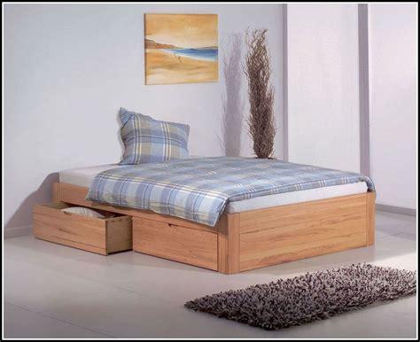 Bett Ohne Kopfteil by Bett Ohne Kopfteil Mit Schubladen Betten House Und