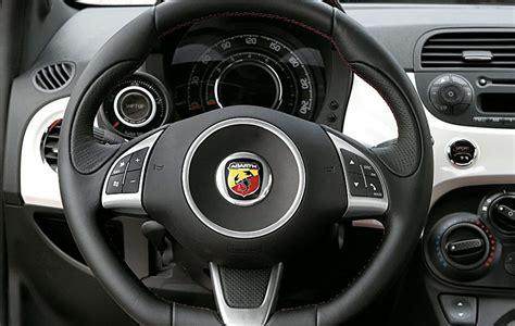 volante abarth 500 abarth 500 2012 pregi e difetti della citycar sportiva