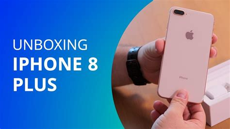 iphone 8 plus unboxing canaltech