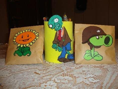 plants vs zombie en fomix plants vs zombies dulcero para cumplea 241 os youtube