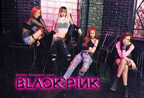blackpink hangul black pink profile facts photos and biography of