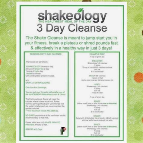 Detox Diet Jumpstart Weight Loss by 19 Best Images About Shakeology 3 Day Jumpstart On