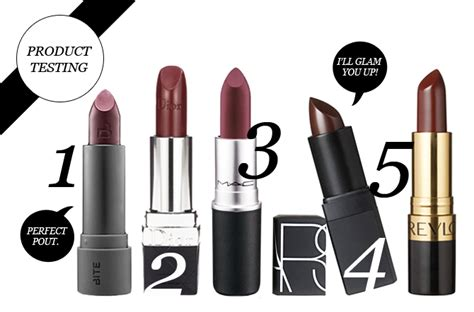 wine colored lipstick product testing top 5 wine colored lipsticks stylecaster