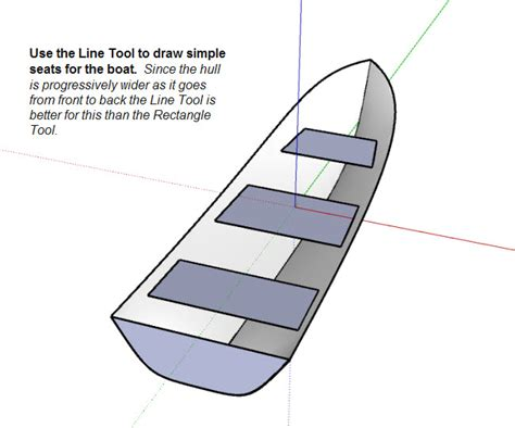 how to draw a boat hull in sketchup organic modeling bezier curve with soap skin and bubble