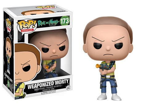 Funko Rick And Morty Snowball Pop Vinyl 12445 weaponized morty rick and morty funko pop