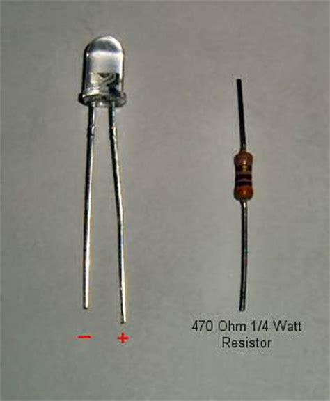 led diode positive leg got problems