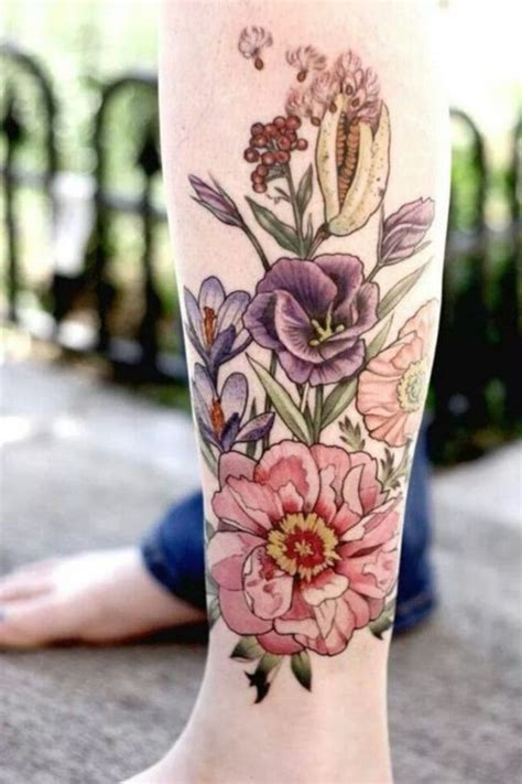 101 Feminine Flower Tattoo Designs For Women Flower Tattoos Designs For