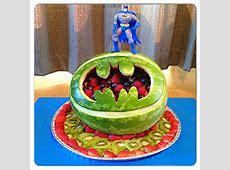Batman watermelon carving :)   Watermelon Ideas   Pinterest Watermelon Carving Ideas