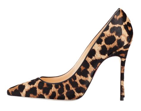 leopard high heels high heel leopard printed closure