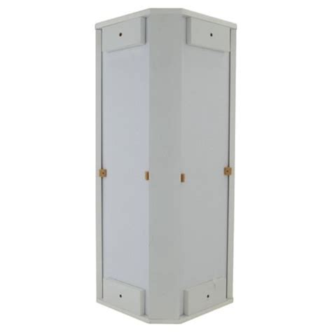 Tesco Bathroom Furniture Buy Southwold White Wood Corner Mirror Cabinet From Our Bathroom Wall Cabinets Range Tesco