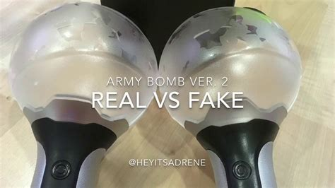 Army Bomb Ver 2 army bomb ver 2 real vs 二代 阿米棒 真假分辨