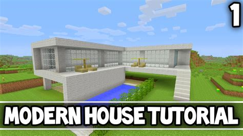 minecraft simple modern house tutorial part 1 xbox 360